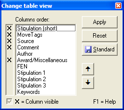 "The ""Table view"" manager"